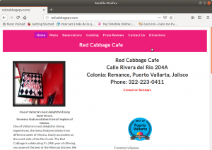 The Red Cabbage Cafe - Puerto Vallarta - Mexican Food